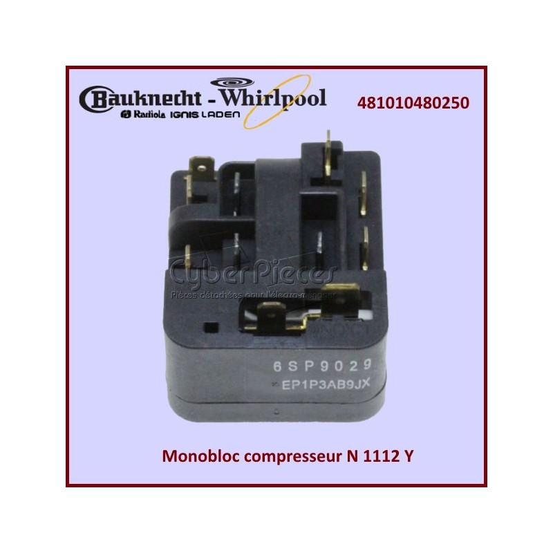 Monobloc compresseur Whirlpool 481010480250