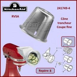 Cône trancheur Fin RVSA Kitchenaid 241749-4 CYB-118019