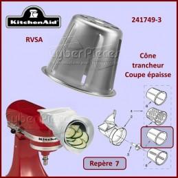 Cône trancheur Epais RVSA Kitchenaid 241749-3 CYB-116350