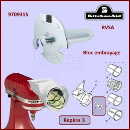 Bloc embrayage RVSA Kitchenaid 9709315 CYB-111638
