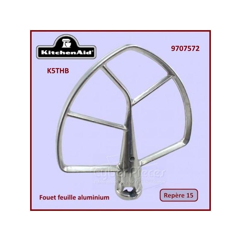Mélangeur plat aluminium K5THB Kitchenaid 9707572