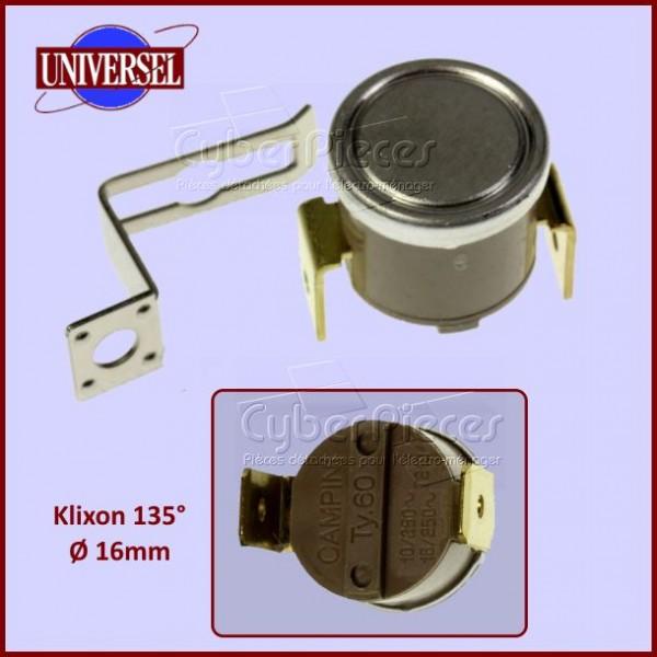 thermostat klixon 135 degr s pour micro ondes cuisson pieces detachees electromenager. Black Bedroom Furniture Sets. Home Design Ideas