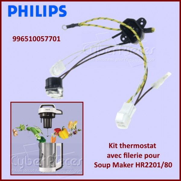 Kit thermostat pour Soup' Maker Philips 996510057701