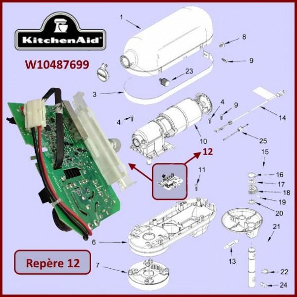 Module de contrôle Kitchenaid W10487699