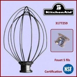 Fouet 5 Fils KitchenAid...