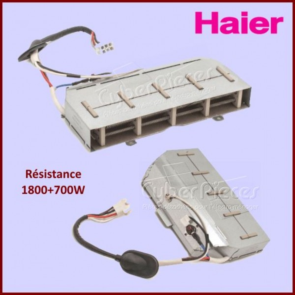 Resistance 1800+700W Haier 0024000291