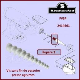 Vis sans fin FVSP Kitchenaid 2414661 CYB-110655