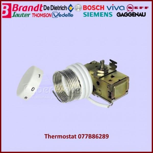 thermostat 077b86289 bosch version g n rique 00054179 pour thermostats refrigerateurs et. Black Bedroom Furniture Sets. Home Design Ideas