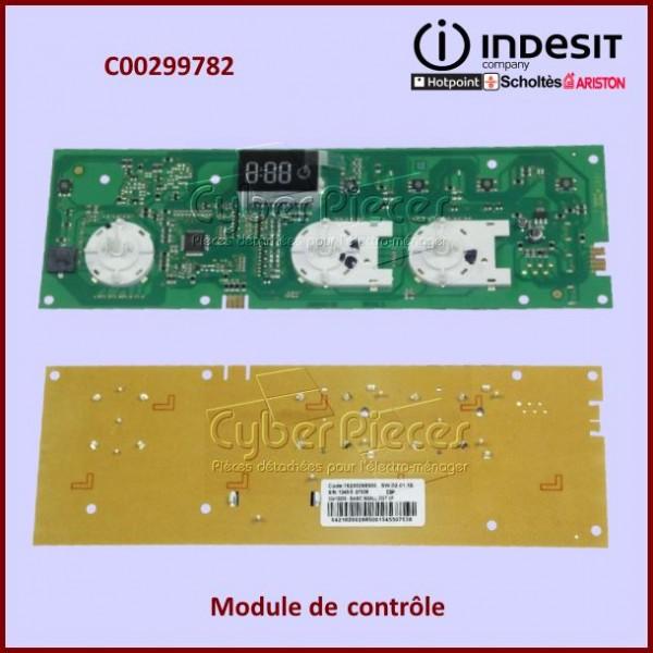 Carte électronique de contrôle Indesit C00299782