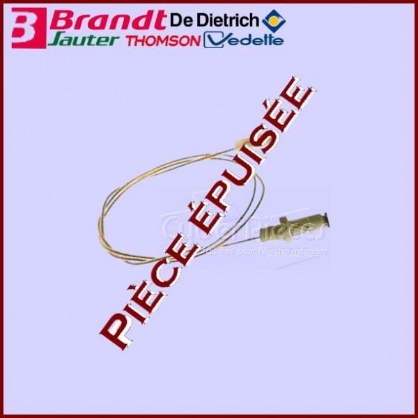 Bougie D.6mm L.25mm A Fil+joint Brandt 71X8908***Pièce épuisée***