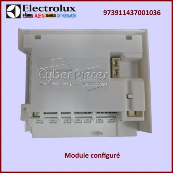 Module Electronique configuré EDW1XX Electrolux 973911437001036