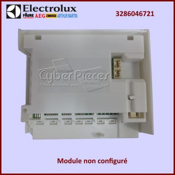 Module électronique EDW1XX Electrolux 3286046721 à configurer par nos soins