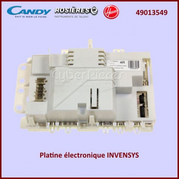 Platine électronique INVENSYS Candy 49013549