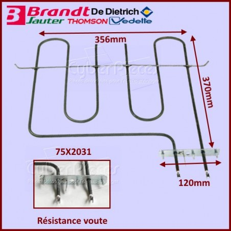 Resistance 2100w Brandt 75X2031