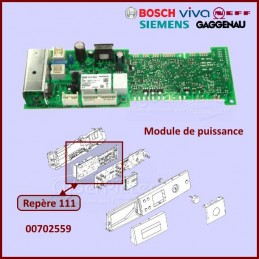 Carte électronique vierge Bosch 00702559 à configurer par nos soins CYB-266390