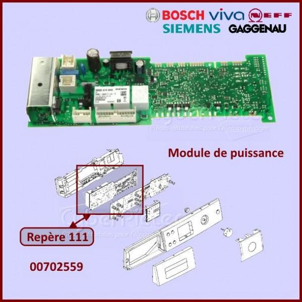 Module vierge Bosch 00702559 à configurer par nos soins