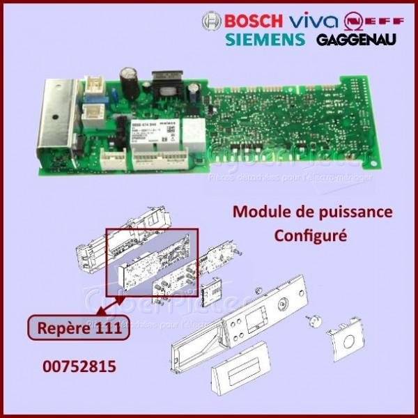 Module de puissance configuré Bosch 00752815