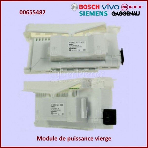 Carte électronique de commande non programmé Bosch 00655487 CYB-266482