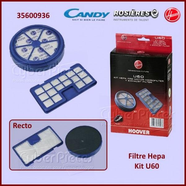 Filtre Hepa Kit U60 Hoover 35600936