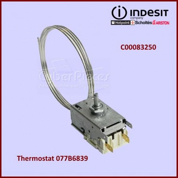 Thermostat 077B6839 Indesit C00083250