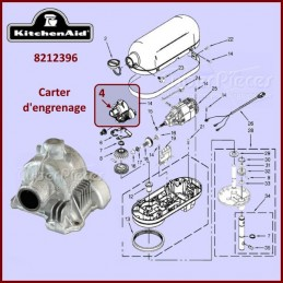 Carter d'engrenage Kitchenaid 8212396 CYB-266062