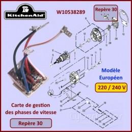 Platine de contrôle de vitesse Kitchenaid W10538289 CYB-353021