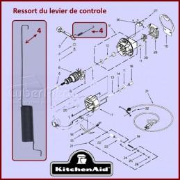 Ressort du levier de contrôle de vitesse Kitchenaid 3183680 CYB-266031