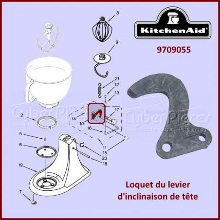 Loquet du levier d'inclinaison Kitchenaid 9709055