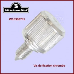 Vis chromée de fixation Kitchenaid W10360791 CYB-117630