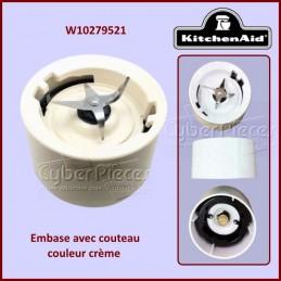 Embase crème Kitchenaid W10279521 CYB-116923
