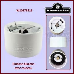 Embase Blanche avec Couteau Kitchenaid W10279516 CYB-155557