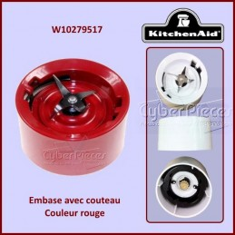 Embase Rouge Kitchenaid W10279517 CYB-359924