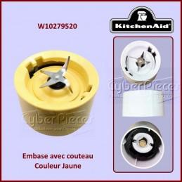 Embase Jaune Kitchenaid W10279520 CYB-117111