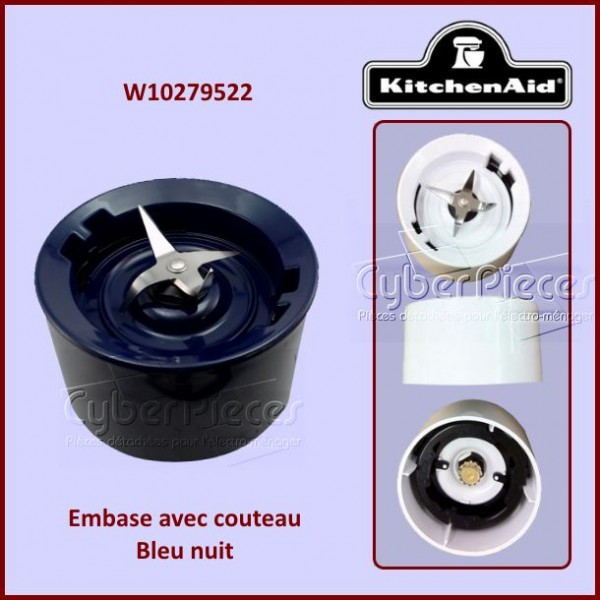 Embase Bleu nuit Kitchenaid W10279522