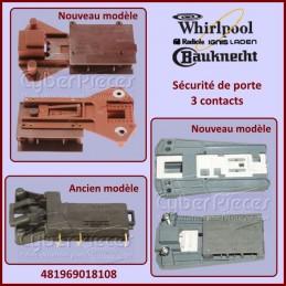 Sécurité de porte Whirlpool 481969018108 CYB-006507