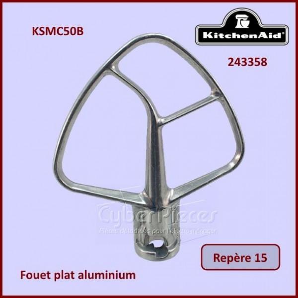 Mélangeur plat aluminium KSMC50B Kitchenaid 243358