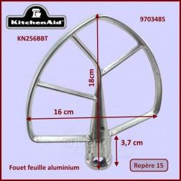 Mélangeur plat aluminium KN256BBT Kitchenaid 9703485 CYB-028158