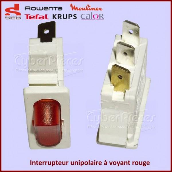 Interrupteur à voyant rouge Seb TS-226250