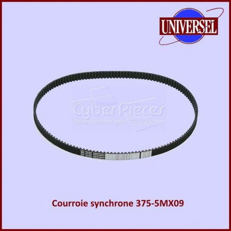 Courroie synchrone 375mm Contitech Synchrobelt HTD 375-5MX09
