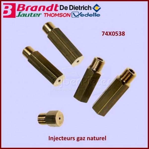 Jeu d'injecteurs gaz naturel 74X0538