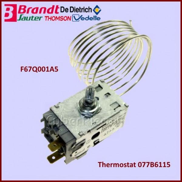 Thermostat 077B6115 Brandt F67Q001A5