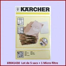 Lot de 5 sacs KARCHER...
