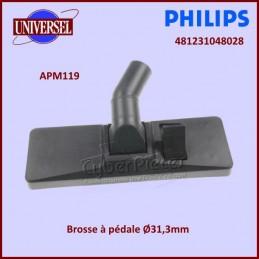 Brosse à pédale Ø31,3mm...