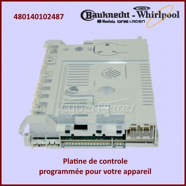 Module électronique configuré Whirlpool 480140102487