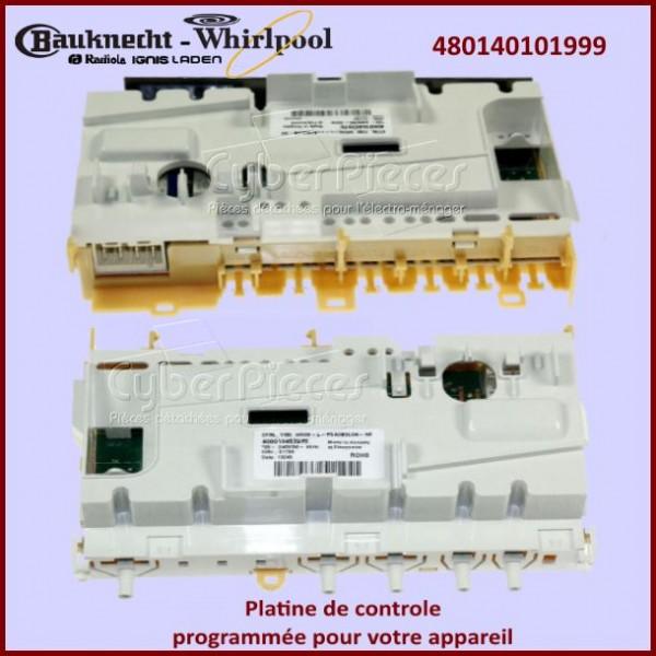 Carte électronique configuré Whirlpool 480140101999