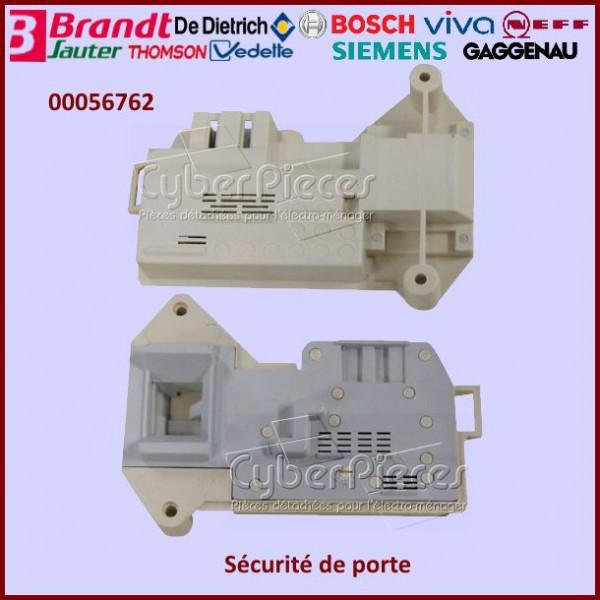 s curit de porte 00056762 pour verrou de porte machine a laver lavage pieces detachees. Black Bedroom Furniture Sets. Home Design Ideas