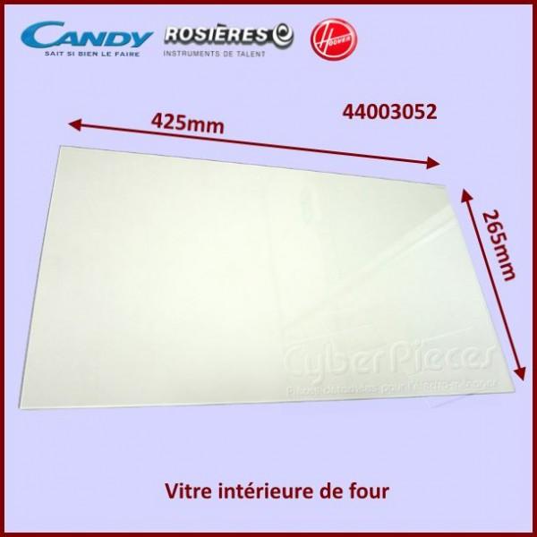 Vitre intérieure de four Candy 44003052