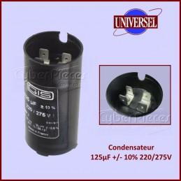 Condensateur 125µF (125mF)...