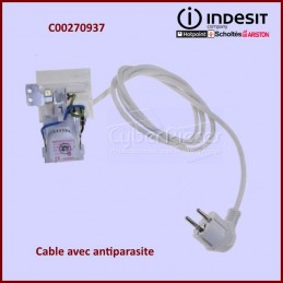 Cable d'alimentation + Antiparasite C00270937 CYB-297738