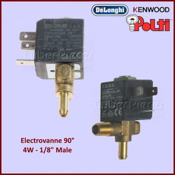 """Electrovanne 90° 4W 1/8"""" Male"""